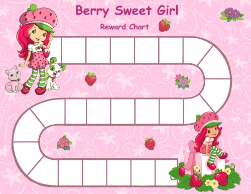 sticker charts for girls
